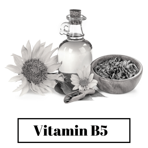 Good results on Google SERP when searching for 'Vitamin B5 for hair'