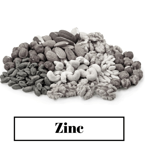 Good results on Google SERP when searching for Zinc for hair